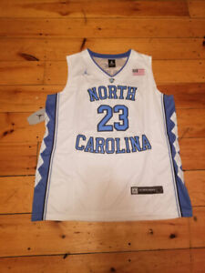 North Carolina Michael Jordan Jersey- Medium-New- White- W/Tags