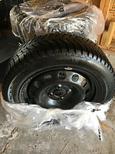 185 / 55 R 15 Snow Tires & Rims for Chevy Spark
