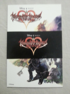Kingdom Hearts 365/2 Days Postcard Set of 4 Preorder Bonus