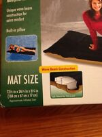 Fabric raft brand new never used good for camping or pool