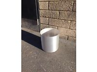 Large Aluminium Plant Pot - indoor office