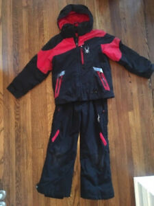 Spyder Ski Jacket & Snow Pants- kids size 8