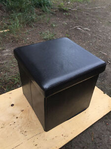 """Set of two collapsable sitting cubes, 16"""" square"""