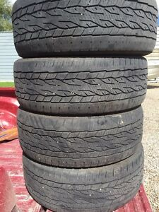 I have a set  of 275-55 r20