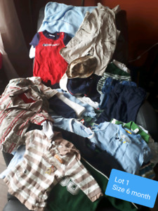 Baby boy 6 month clothing lot (s)