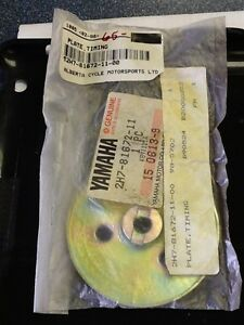 NOS Timing plate for Yamaha XS1100 1980