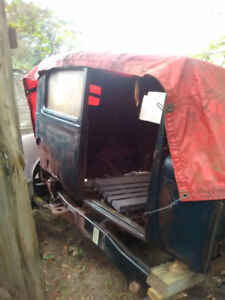 1929 model T ford body and other parts