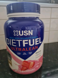 USN Diet fuel, ultra lean meal replacement shake.