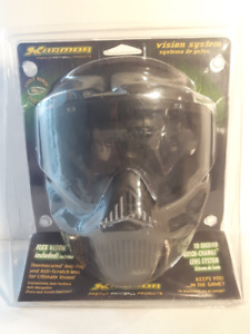 New X-Armor VForce Armor Field Paintball Goggle Mask - Black