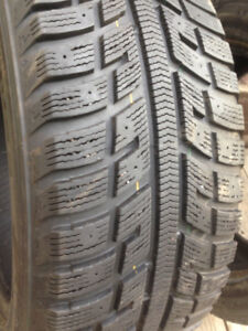 2 Kumho winter tires 215-55-16