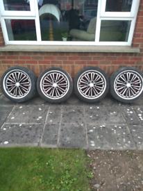 "18"" Jaguar wheels"