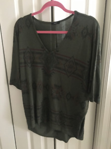Large Shirts (Forever 21, H&M, etc.)