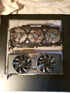 2X Nvidia GTX 770 Graphics Cards SLI