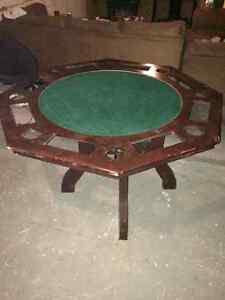 8 man poker table