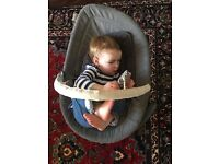 Nuna Leaf Curve Cinder - baby bouncer seat