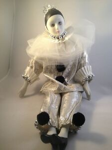 Pierrot, Jester, Harlequin Collection