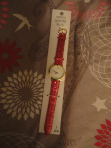 Ladies Pink Sparkly Watch New Reduced
