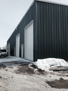 Commercial Steel Building 50 X100 feet with 4 Bays and Office's Yellowknife Northwest Territories image 3
