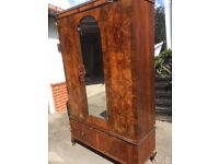 Lovely old solid wardrobe