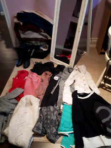 Clothing lot swap women's size S and XS