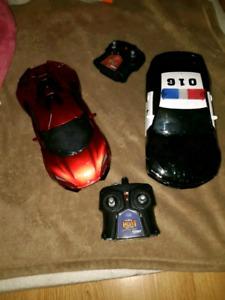 Autos téléguidées Duo