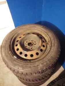 2 sets of winter wheels for sale London Ontario image 4
