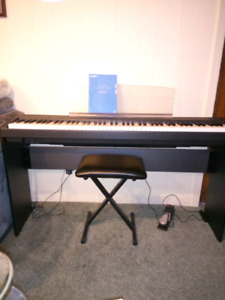 REDUCED  88 key Yamaha digital piano for sale