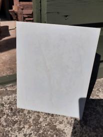 Pale green wall tiles x 40