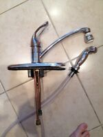 Moen Chateau Kitchen Faucet with side spray