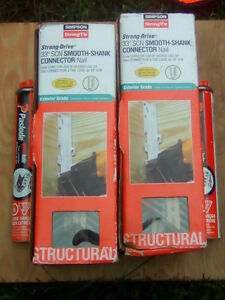 SELLING 3 NEW STRONG DRIVE 33* SCN SMOOTH-SHANK CONNECTOR NAILS