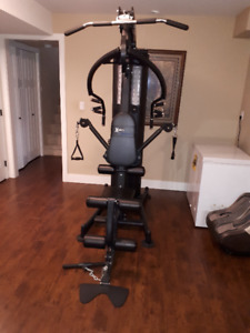 Lightly used Gym - set down and ready to move