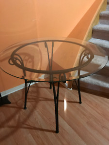 Glass Table- Round