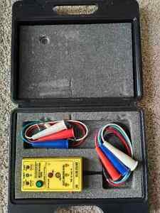 Electricians - Phase Rotation Meter - BEHA Unitest DR701 - $100 Kitchener / Waterloo Kitchener Area image 2