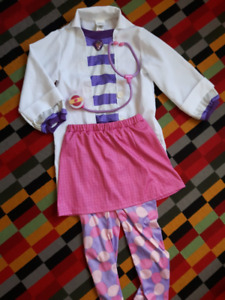 Doc mcstuffins disney costume for 6 years girl