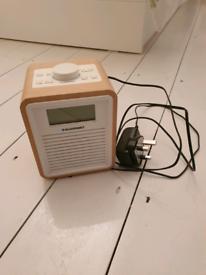 Blaupunkt DAB and fm clock radio