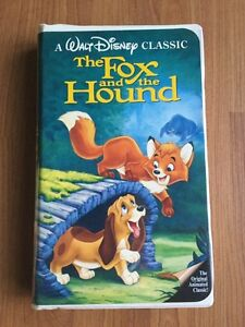 THE FOX AND THE HOUND / ALADDIN  CLASSICS DISNEY VHS
