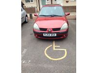 Very lovely Renault Clio 2004