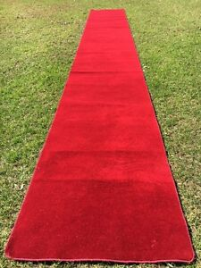 Wedding Red Carpets / White Carpet / Aisle Runner For Hire Canning Vale Canning Area Preview