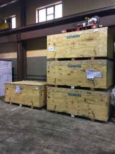 Shipping crates/containers 7x4.5x3 solid construction