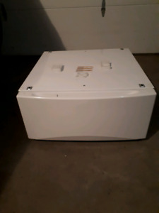 GE dryer stand/riser with drawer