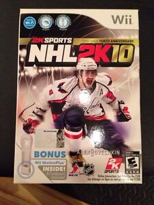 NHL 2K10 Wii complete ovechkin