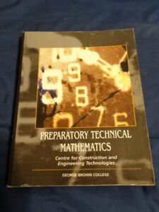 PREPARATORY TECHNICAL MATHEMATICS (GBC) Textbook