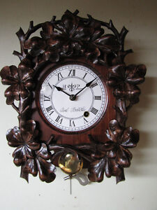 Hand carved, unique wall clock! Only one ever made!!!!