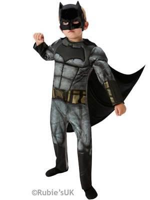 Deluxe Batman Dawn Of Justice Fancy Dress Muscle Chest Costume Kids Boys (Kid Batman Kostüme)