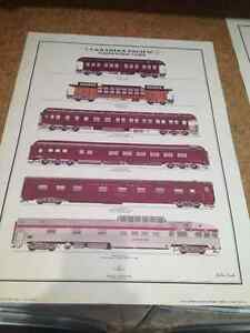 CPR AND CNR PASSENGER CARS LITHOS - PARKER PICKERS -