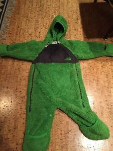 North face infant one piece (bunting suit)