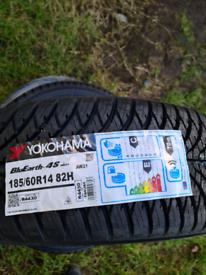 Yokohama bluearth 4s tyres