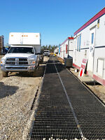 SAFETY BAR GRATED MATS, RIG MATS, FOR RENT OR SALE