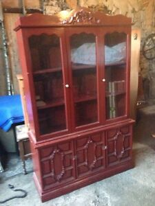 Buffet/Hutch. Large and small.