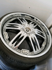 Spinners rims very good shape
